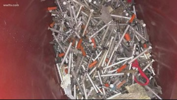Watch your step. Dirty needles on the street has New Orleans' attention