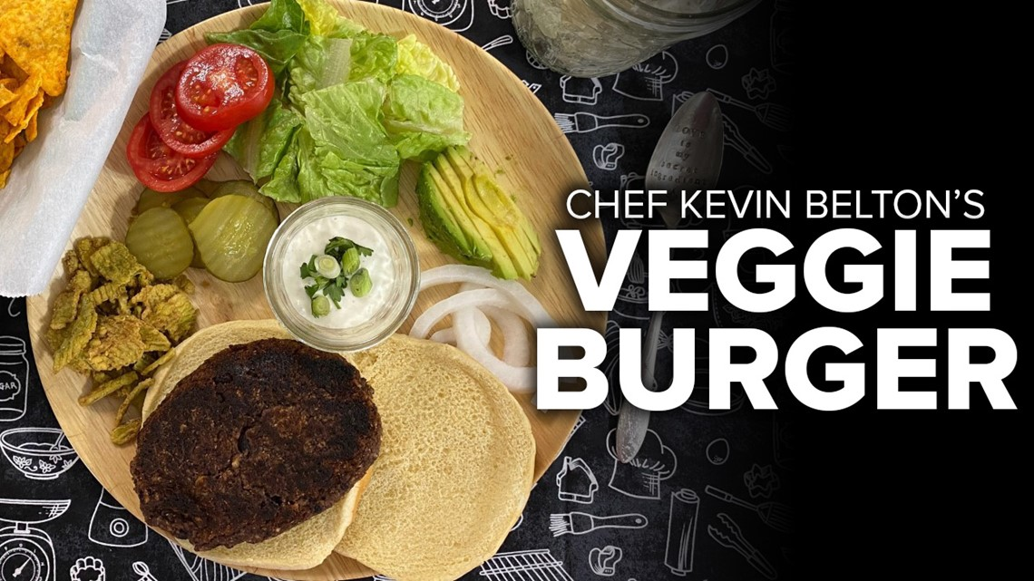 Recipe: Chef Kevin's Chipotle Black Bean Burger