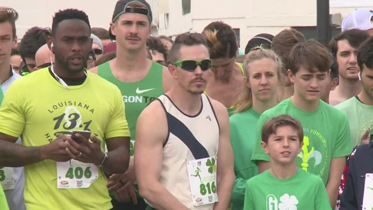 Hundreds run through Metairie for annual St. Patrick's Day Classic 5k
