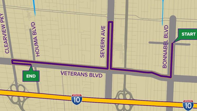 Krewe of Athena parade route