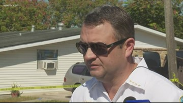 Sheriff Lopinto on Terrytown teen killing father with spear