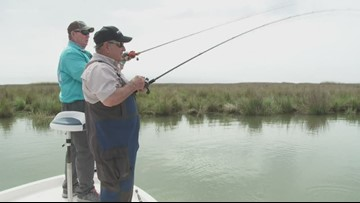 Fish and Game Report: Redfish using plastic baits