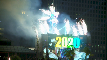 New Orleans welcomes 2020 with Fleur de Lis drop at midnight