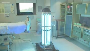 Jesuit HS lends germ-killing robot, 'Morty,' to hospital fighting coronavirus