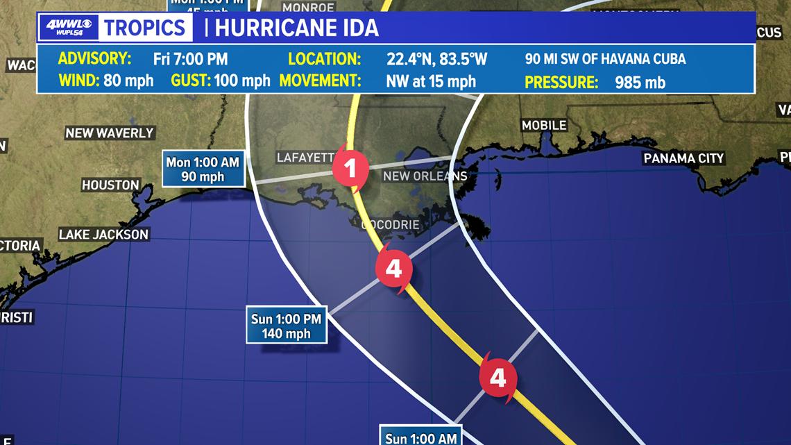 Hurricane Ida: Parish by Parish updates