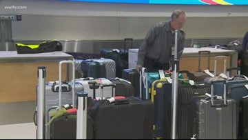 MSY baggage issue causes delays, flights leaving checked bags behind