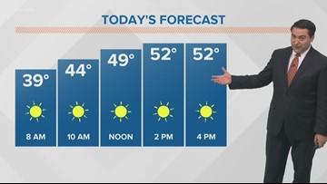 Thursday Morning November 15 Pinpoint Forecast