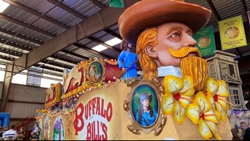 """Bacchus heads to the """"Wild Wild West"""" for this year's parade"""