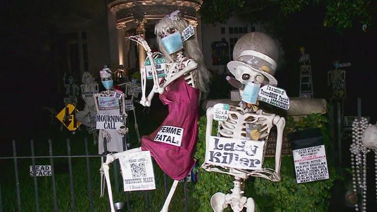 St. Charles skeleton house returns