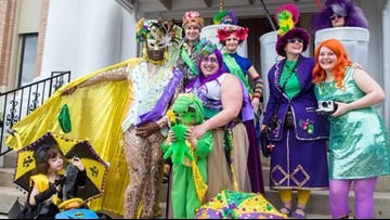Workshop aims to put costumes back in Mardi Gras