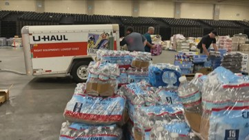 People Helping People: Houma residents get some much-needed supplies