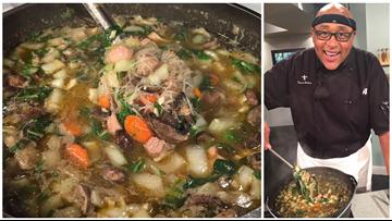 Recipe: Chef Kevin Belton's Garlic Noodle Soup