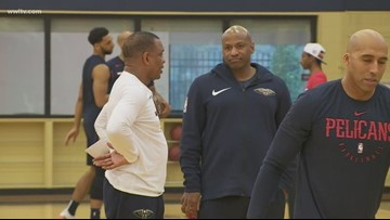 New Orleans Pelicans part ways with general manager Dell Demps