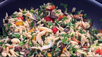 Recipe: Roasted Vegetable Orzo by Chef Kevin Belton