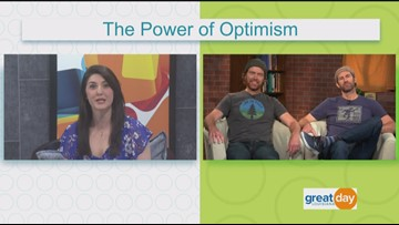 Spreading the power of optimism