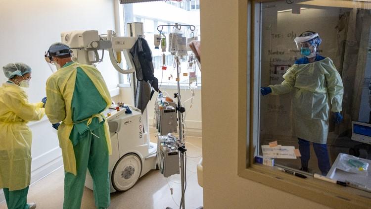 Louisiana COVID-19 hospitalizations near levels seen pre-Delta variant