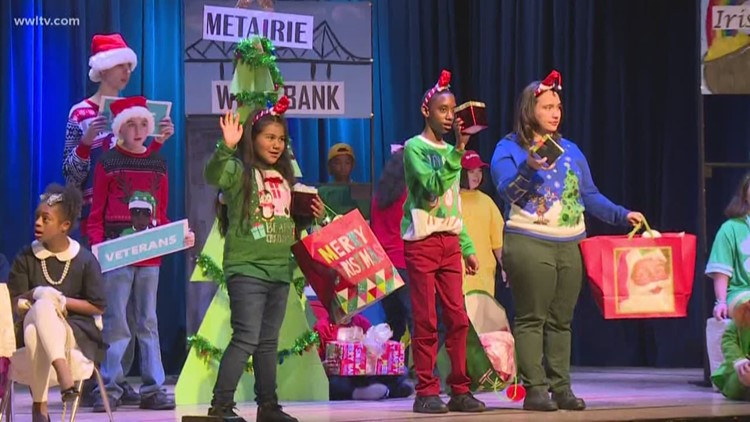 St. Michael special school holds New Orleans holiday showcase
