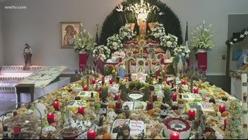 New Orleans families gather around St. Joseph's Day altars