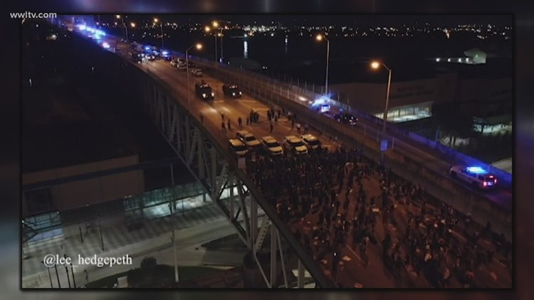 NOPD uses tear gas to disperse protesters after nights of peaceful marches