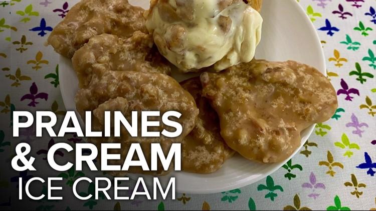 Recipe: Chef Kevin's No-Churn Pralines & Cream Ice Cream