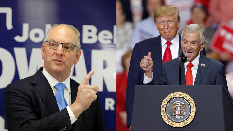 Louisiana Governor Runoff Election Results
