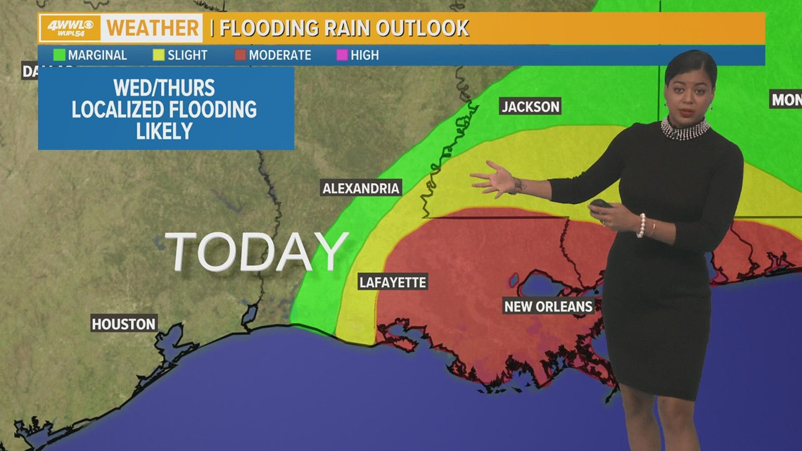 Flash food warning for  Northshore and parts of New Orleans until 11:15 AM