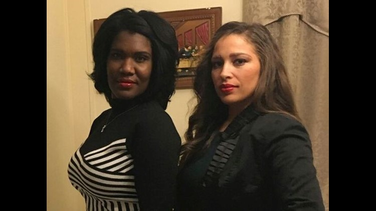 Opelousas native Natalie Darine' Young, left, will soon donate a kidney to her sister Tessie Marroquin, right, who has battled lupus for 33 years. (Photo: Submitted photo)