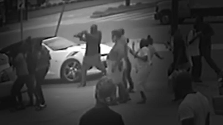 Surveillance camera captures video of New Orleans double homicide