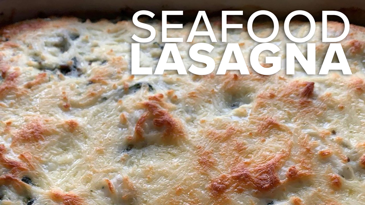 Recipe: Creamy Seafood Lasagna