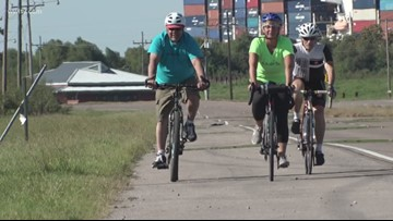 Mother bikes length of Mississippi River to honor son