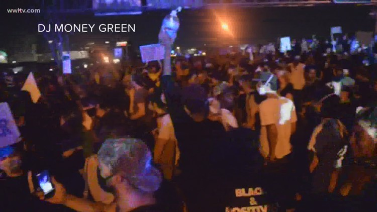 More protests scheduled after peaceful demonstration block I-10 in downtown New Orleans