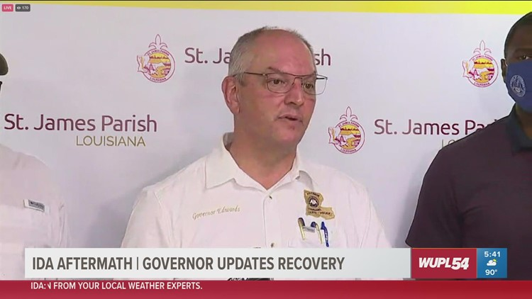 Gov. Edwards update on gas outages in Louisiana