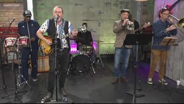 Tree Adams & The NOLA Dag Squad performs