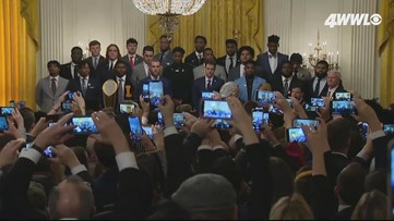 Pres. Trump honors champions LSU, Burrow, Orgeron in the White House