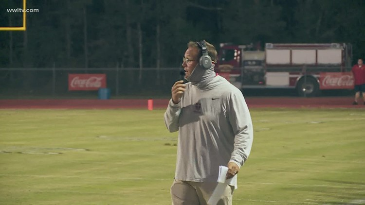 Brother Martin's coach returns to the sideline after life-saving heart surgery