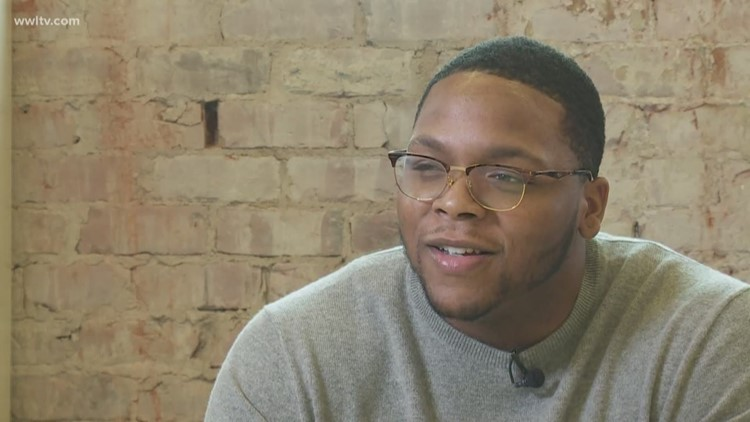 Injured New Orleans Saints player gives Eyewitness News a game prediction