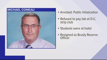 Baton Rouge-area principal resigns after arrest at D.C. strip club during school trip, report says