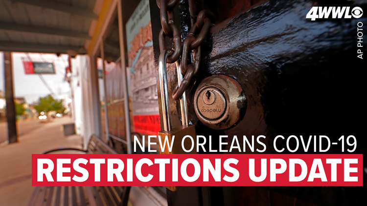 New Orleans eases coronavirus restrictions, larger gatherings allowed