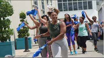 Free Fitness classes with 'Move Ya Brass'