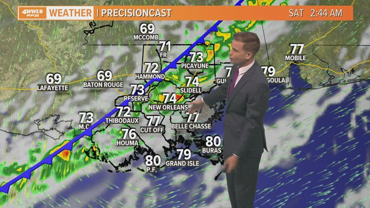 Friday Forecast: Cold front incoming after near-record heat today