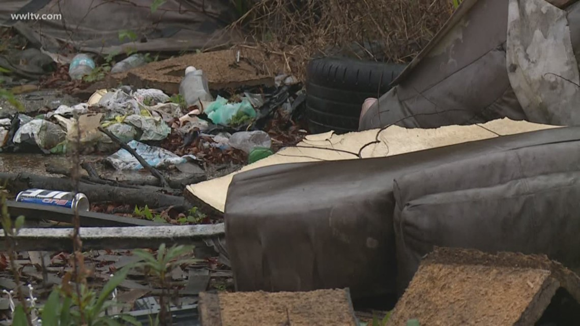 Illegal dumping continues to plague parts of New Orleans