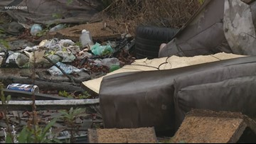 Push to stop illegal dumping puts dent in N.O. East trash