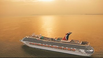 Woman was groped during Carnival cruise, she says