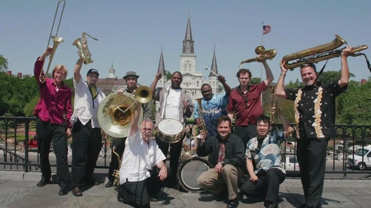 The New Orleans Nightcrawlers nominated for Grammy Award