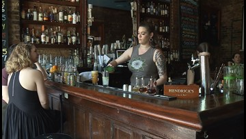 Bars and restaurants in New Orleans donate tips for Sexual Assault Awareness Month