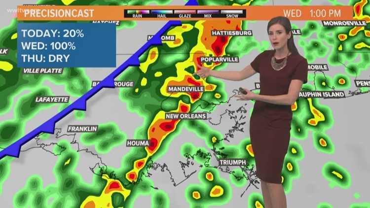 Pinpoint Forecast: Warmer and breezy today, rain and cold return tomorrow