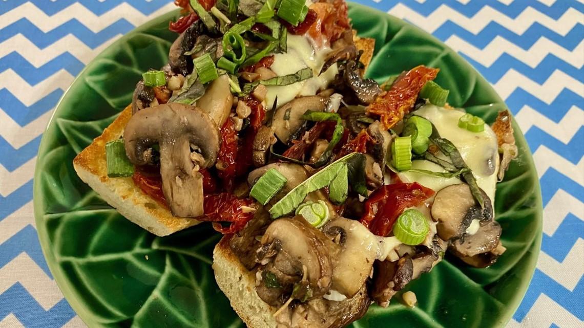 Recipe: Chef Kevin Belton's mushroom garlic toast