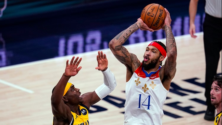 Ingram scores 30 as Pelicans top Pacers 114-113