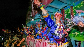 Nyx will ride with Pandora in Metairie after parade cut short