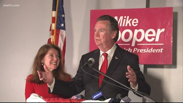 Mike Cooper St. Tammany Parish President-Elect victory speech